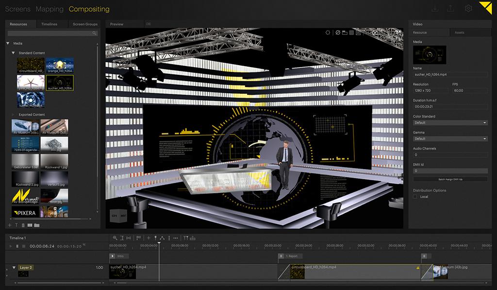 AV Stumpfl Pixera Software