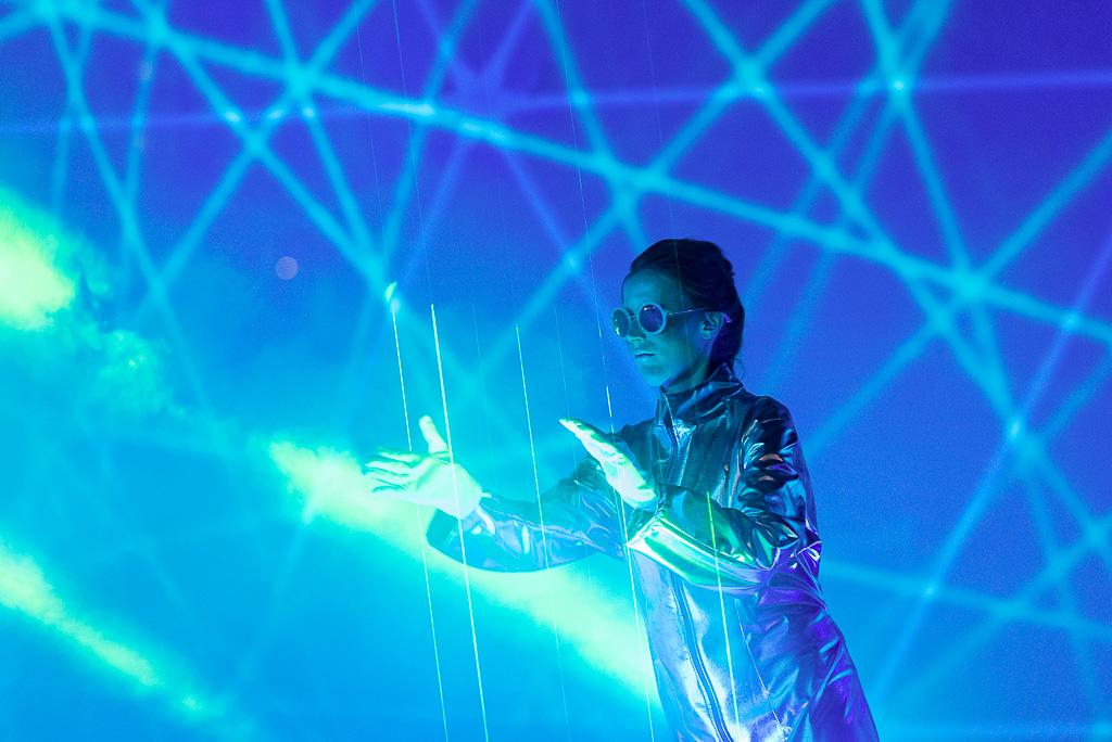 Laserharfe