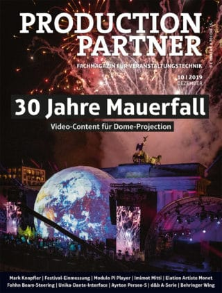 PRODUCTION PARTNER Titel Ausgabe 10-2019