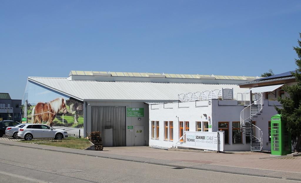 Firmensitz von Sommer Cable in Straubenhardt
