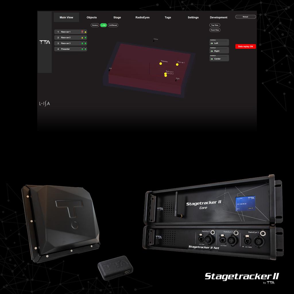 Das L-ISA Plugin für Stage Tracker II von TTA