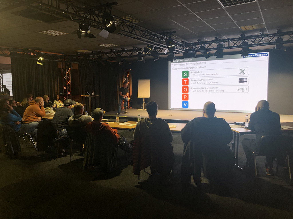 Screen Visions LED Safety Training