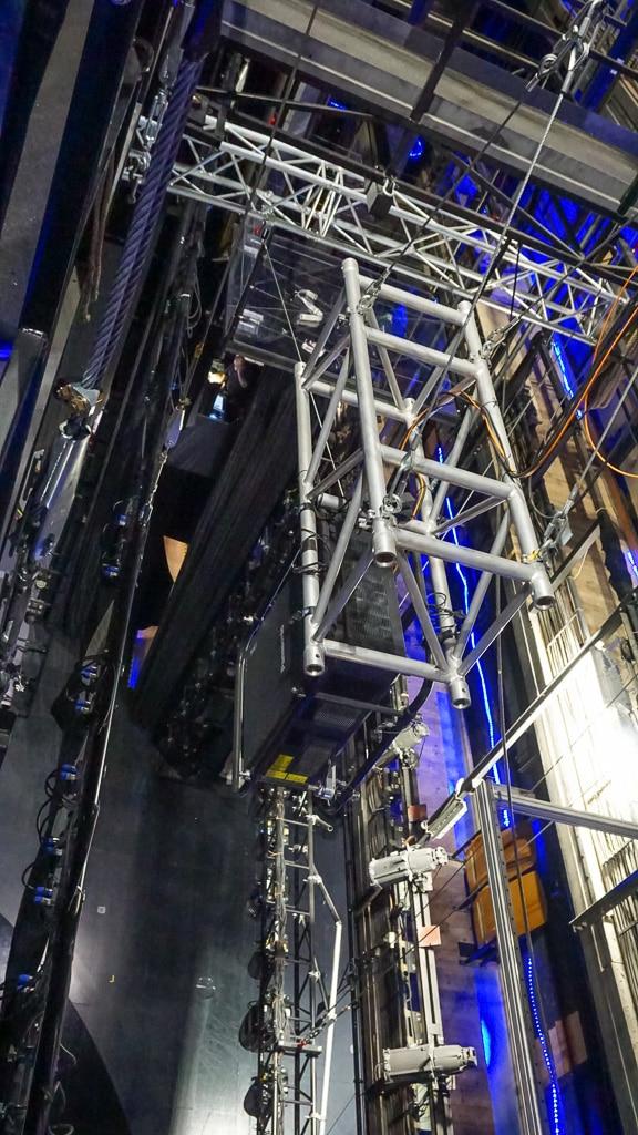 RZ 21K im Bühnendach bei der VIVID Grand Show