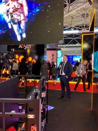 Christian Czimny (Absen) im Interview mit publitec auf der ISE 2020