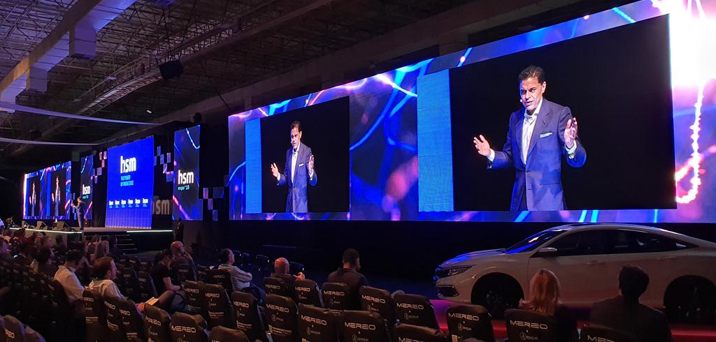 Screens auf der HSM Expo
