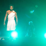 Elation Proteus Hybrid im Bühnenhintergrund beim Hercules Musical