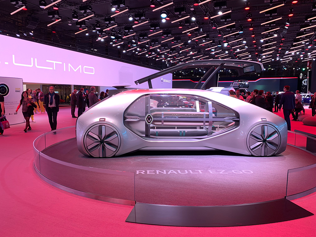 Renault-Stand beim Genfer Autosalon 219