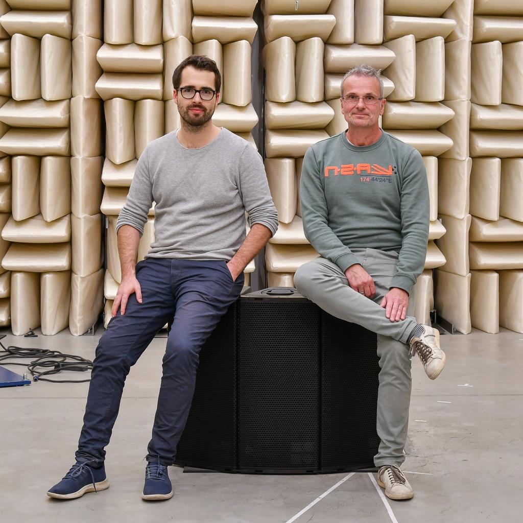 A-Serien-Team Entwickler Lorenz Betz (links) und Product Manager Wolfgang Schulz