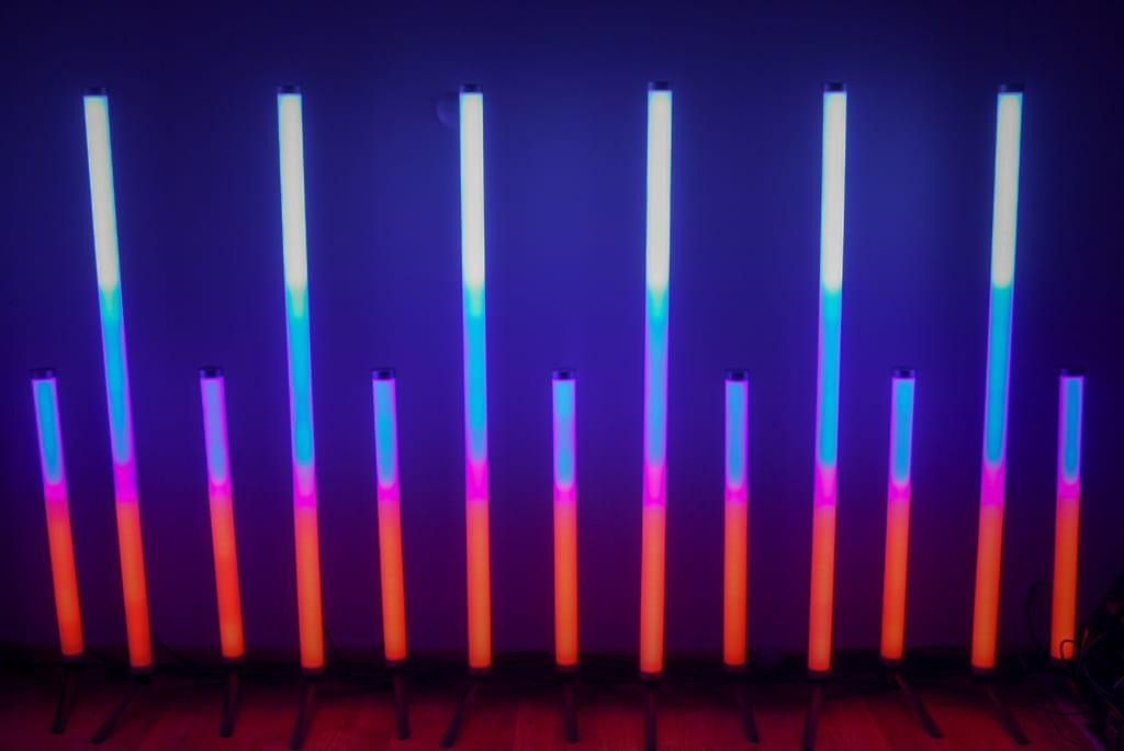Homogene Pixel der Asteras
