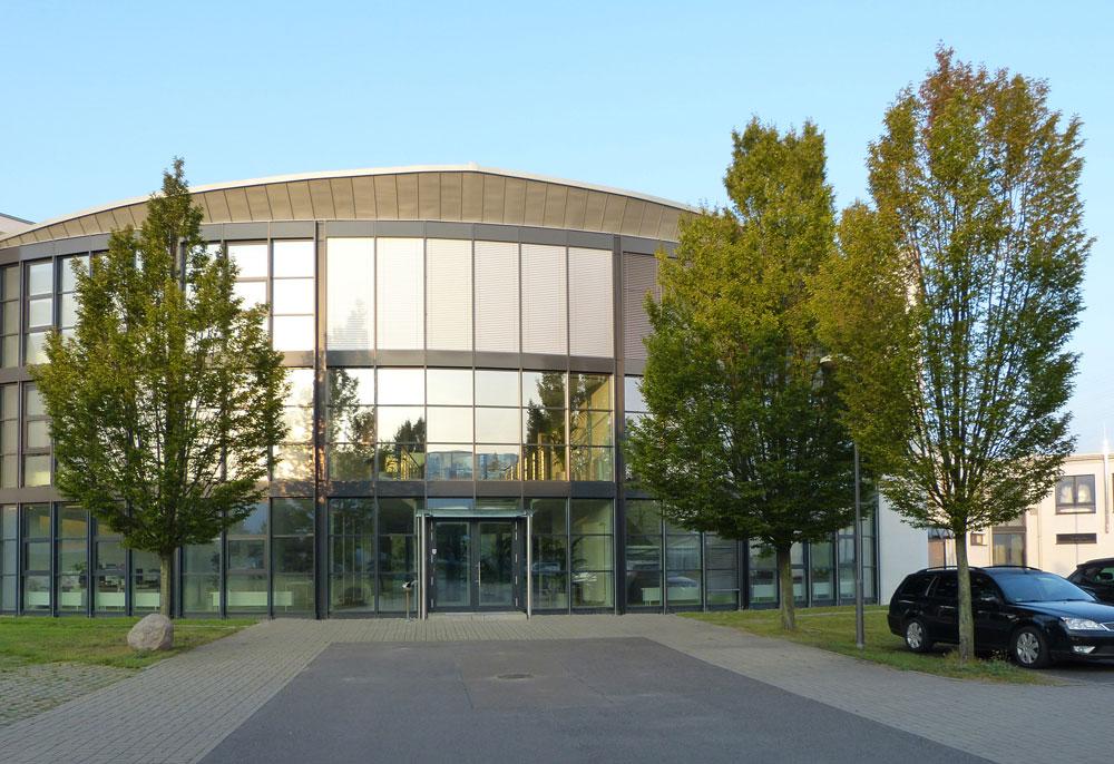 Firmengebäude Stage Tec