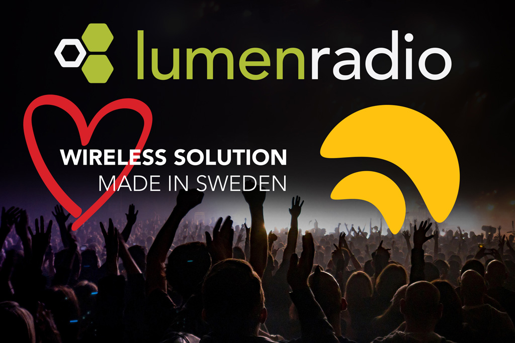 Logos LumenRadio und Wireless Solution