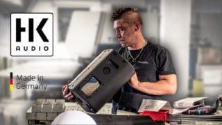 Lautsprecherherstellung bei HK Audio
