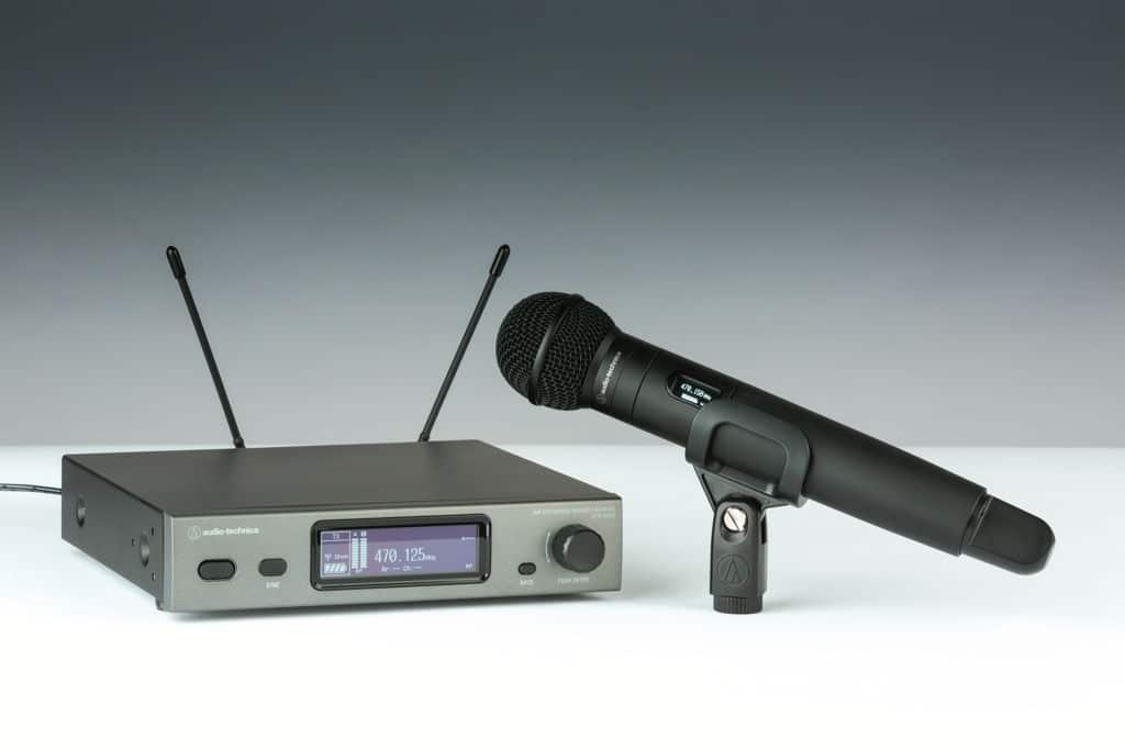 Handsender ATW-T3202 von Audio-Technica