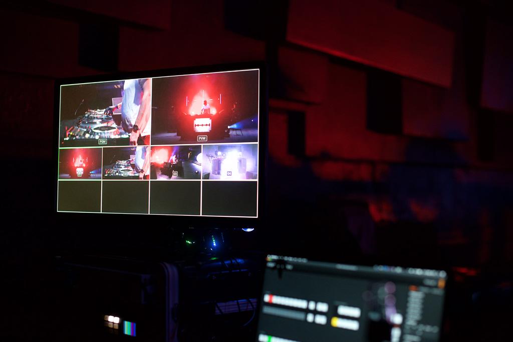 Videosteuerung für den Livestream