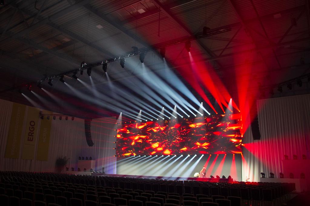 Lichtdesign mit Robe Leuchten