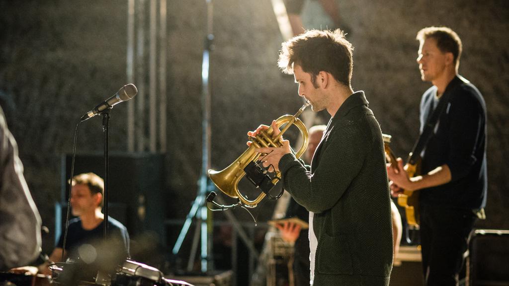 Mikrofonierung der Trompete