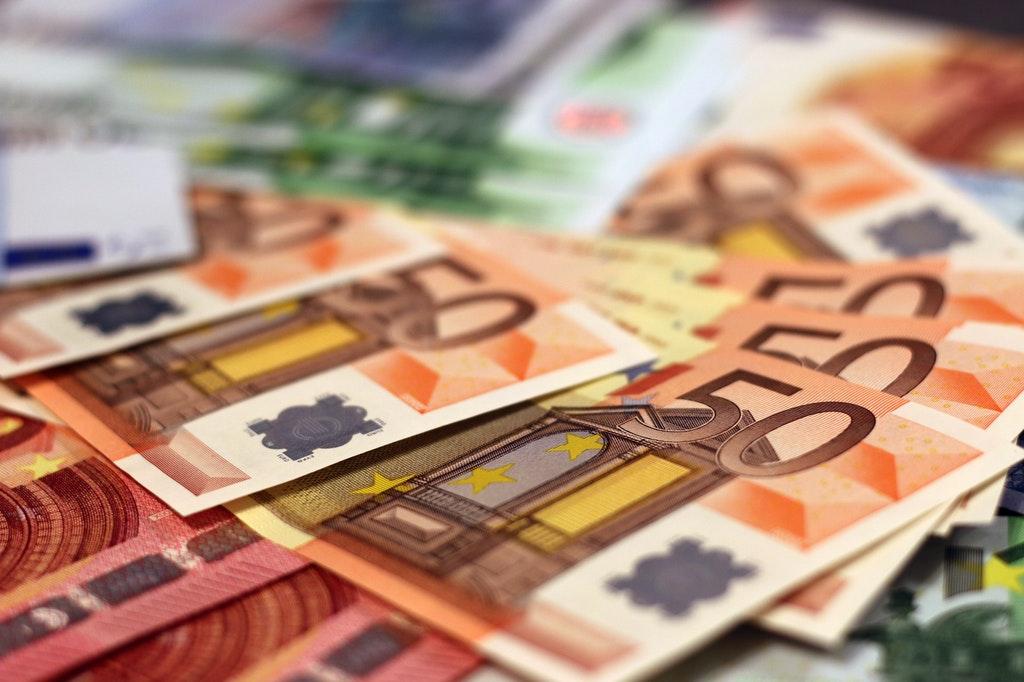 Banknote-Geld-Euro-Bezahlung