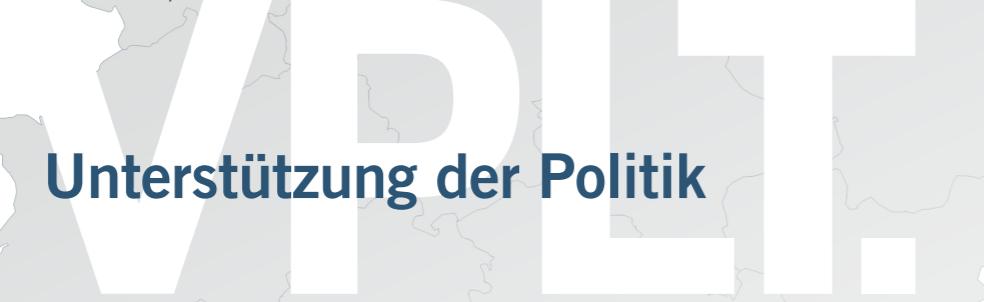 VPLT Forderungen an die Politik