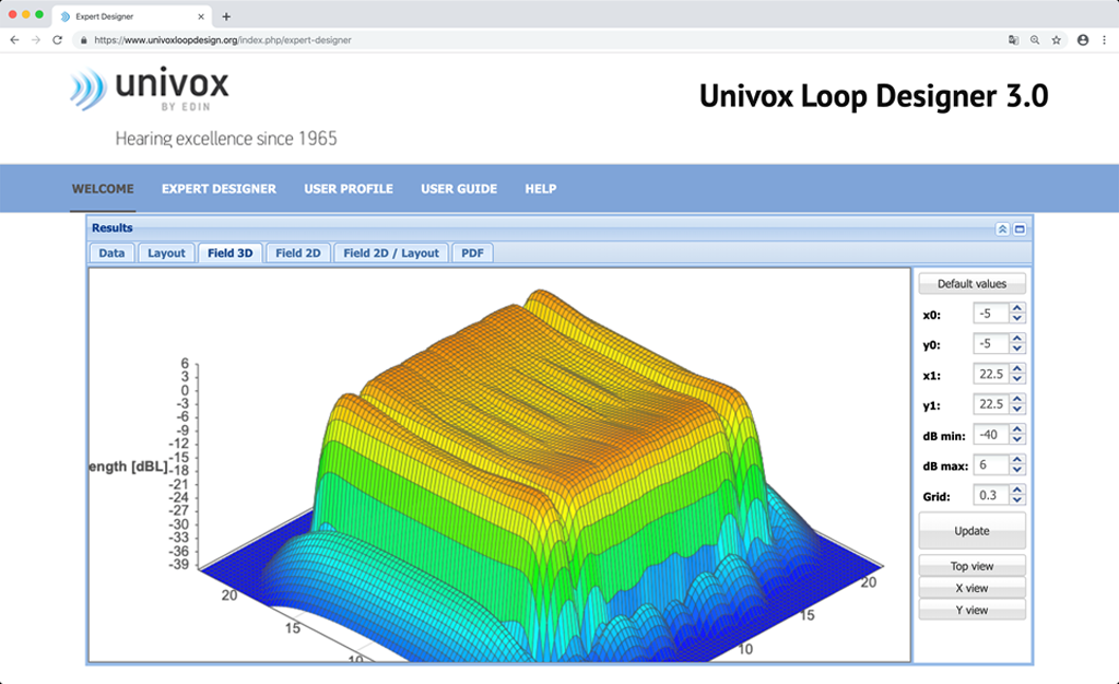 Screenshot Univox