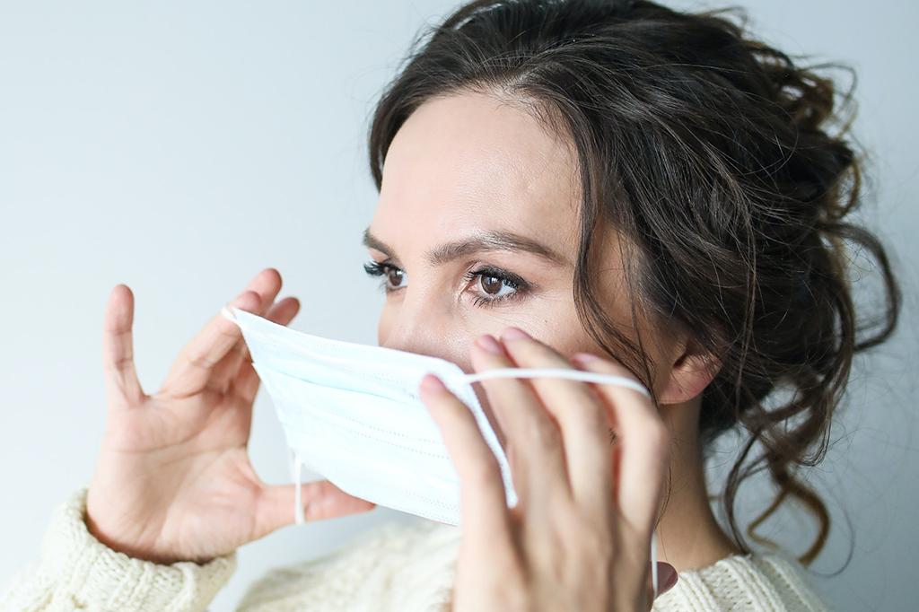 Maske-Mundschutz-Hygiene