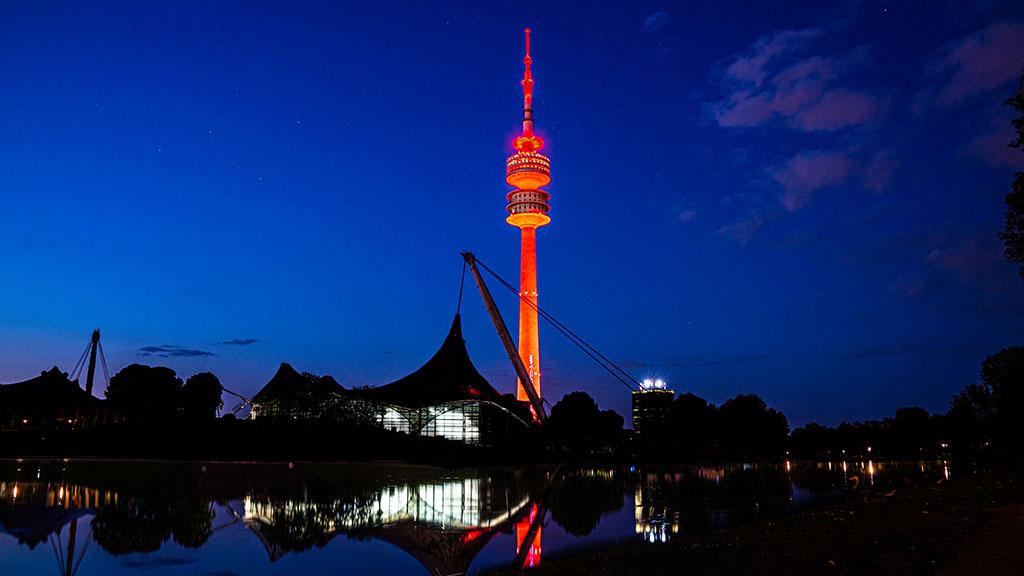Night of Light: Olympia Tower München