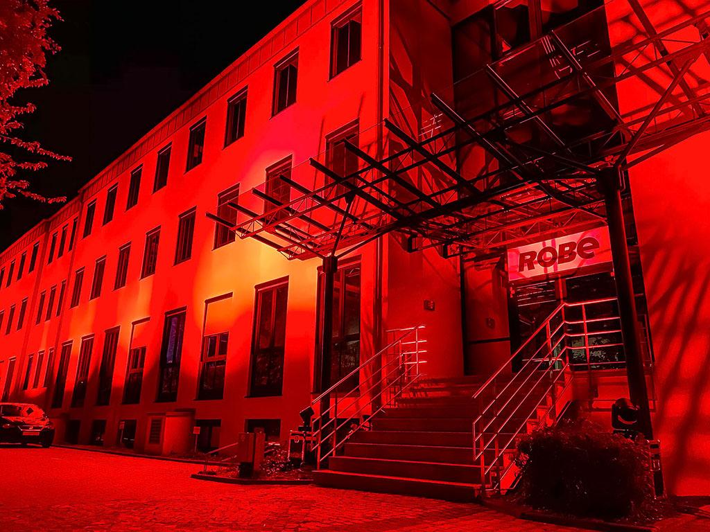 Night of Light: Robe Deutschland Sitz in Ismaning