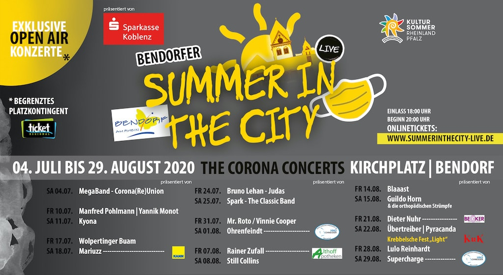 Summer in the city Bendorf 2020