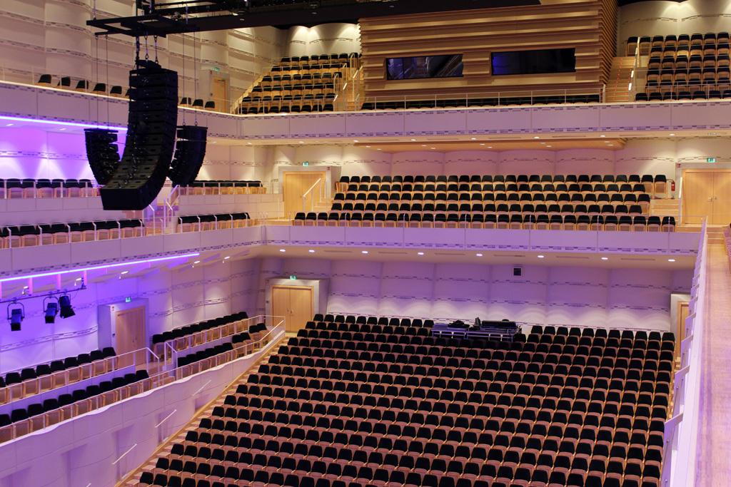 Blick in den Konzertsaal