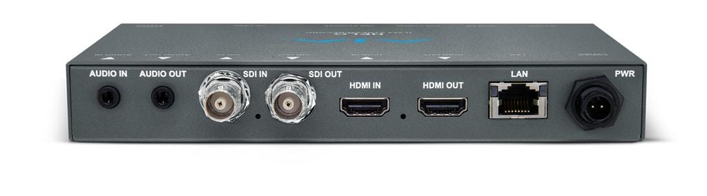 AJA Helo H.264 Streaming- und Recording Encoder, Anschlüsse