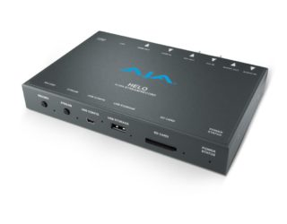 AJA Helo H.264 Streaming- und Recording Encoder