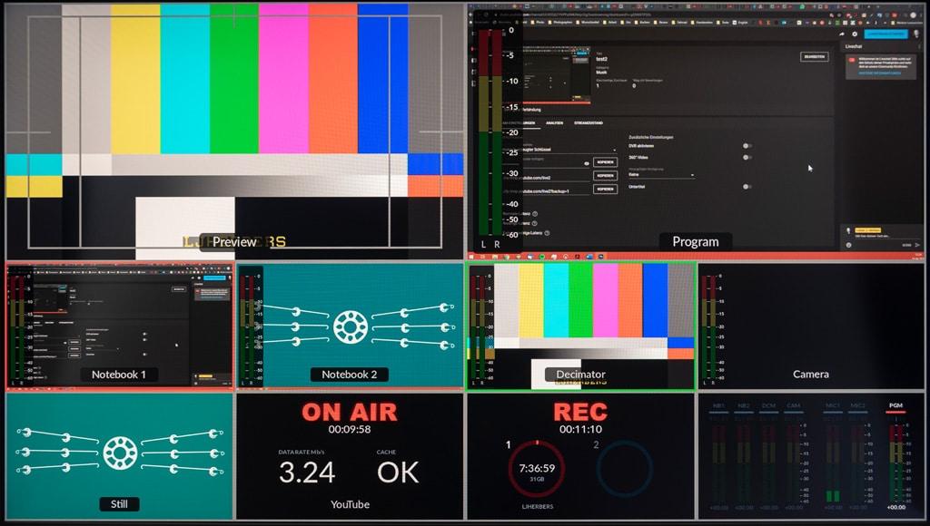 Bildsignale ATEM Mini Pro