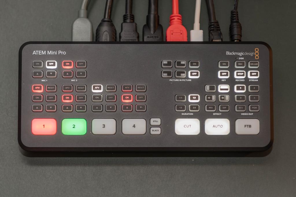 ATEM Mini Pro von Blackmagic Design