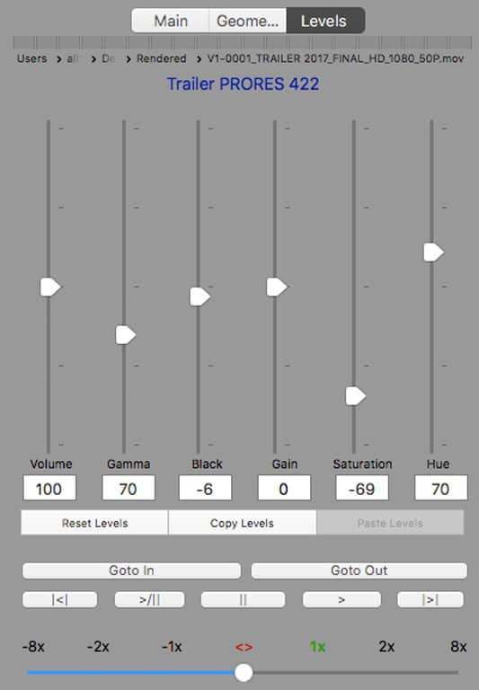 Levels PlaybackPro Plus
