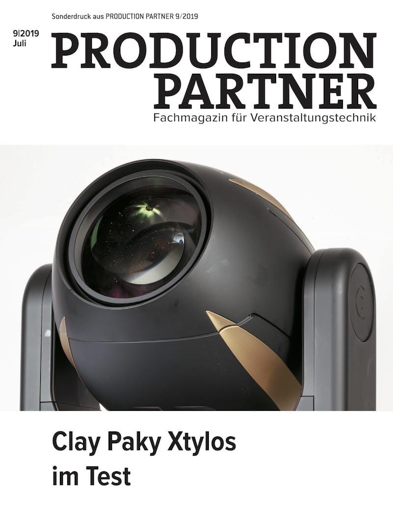 Produkt: Clay Paky Xtylos im Test