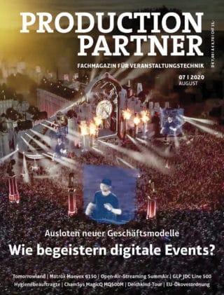 Titel PRODUCTION PARTNER 7-2020