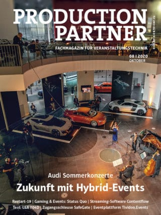 Titel PRODUCTION PARTNER 8-2020