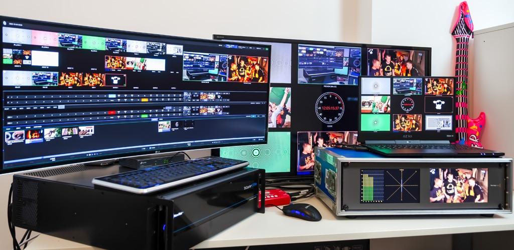 NewTek TriCaster 2 Elite Test-Setup Production Partner