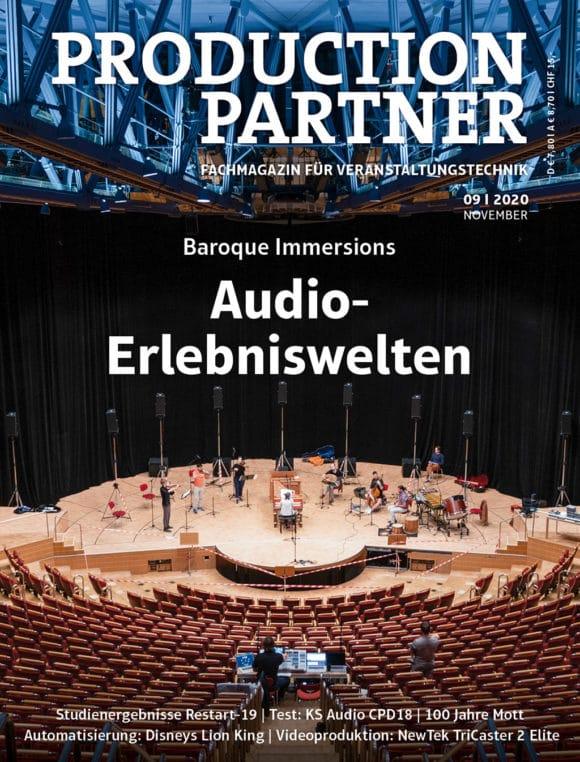 Production Partner Titel Ausgabe 9-2020