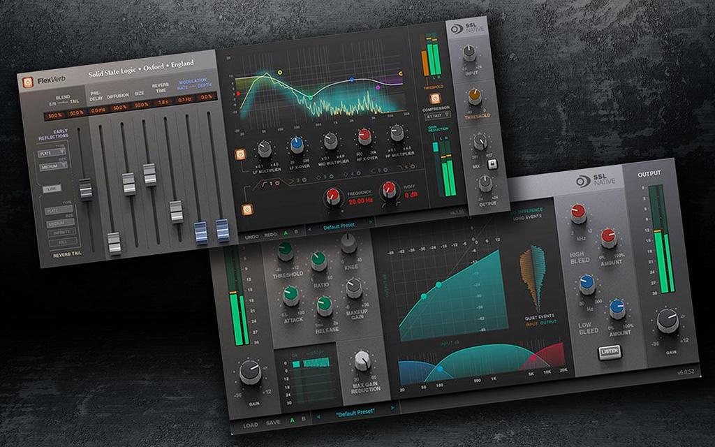 SSL Plug-Ins Audio Pro