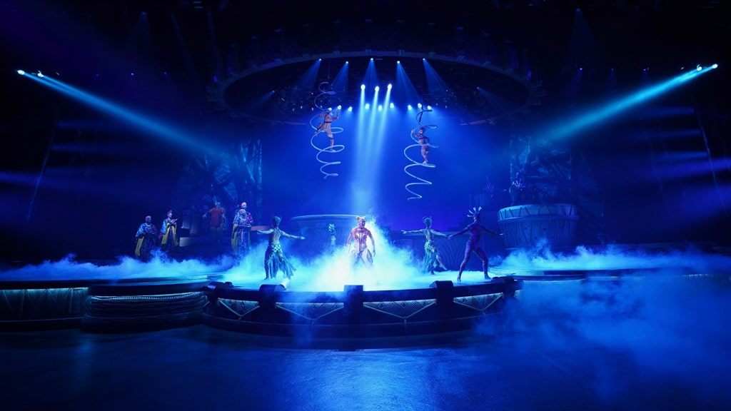 Neuauflage Lion King - Rhythm of the Pride Lands 2020 im Disneyland Zacktrack