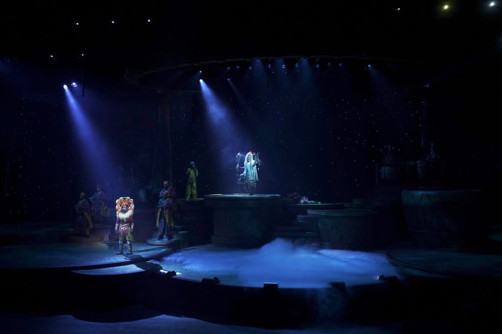 Neuauflage Lion King - Rhythm of the Pride Lands 2020 im Disneyland Zacktrack Follow