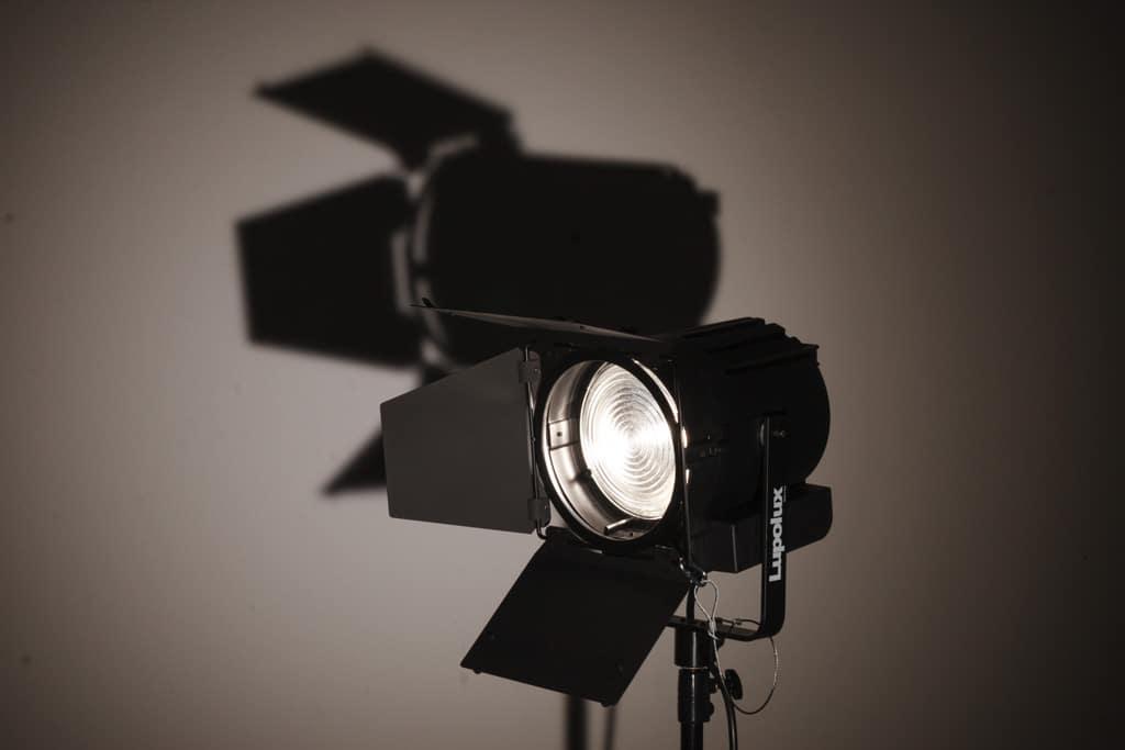 Moderne Weißlicht-LED-Stufe