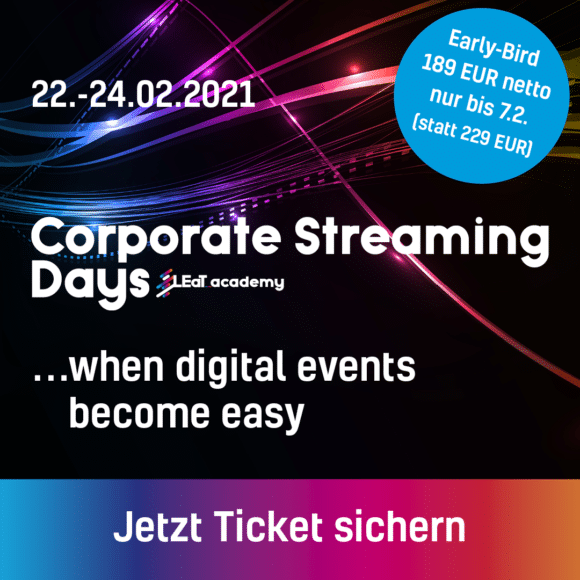 Corporate Streaming Days 2021