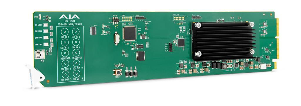 AJA OG-12GM Converter Card
