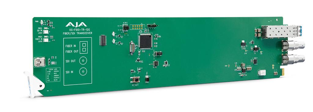 AJA OG-FiDO TR 12G Converter Card