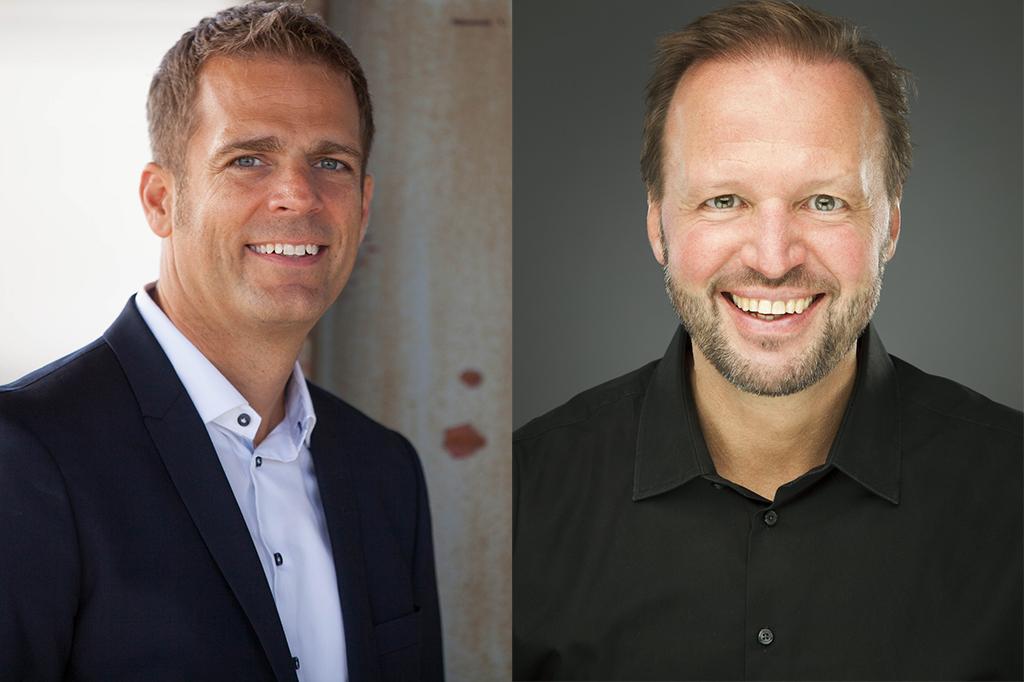Jörn Huber und Tom Koperek