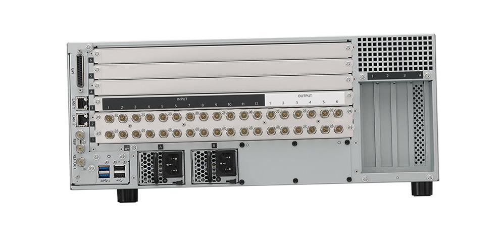 Sony XVS-G1 Live-Videomischer Anschlussseite