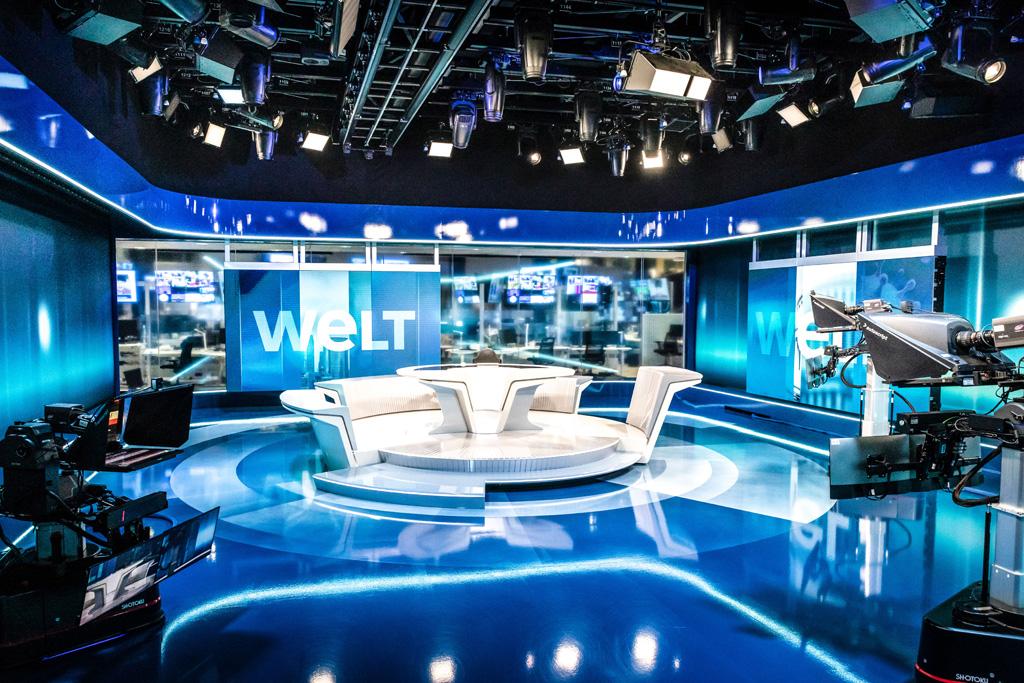 WELT Nachrichtenstudio