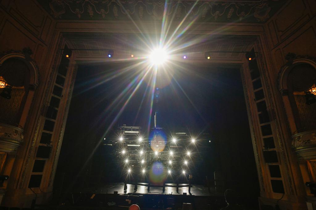 Lichttechnik auf der Bühne