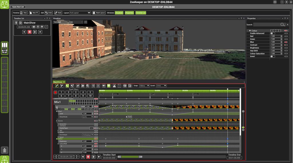 Hippotizer Screenshot